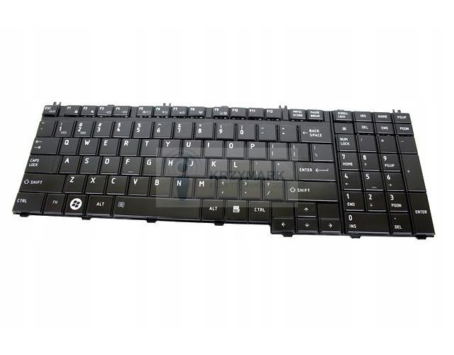 KLAWIATURA TOSHIBA SATELLITE L500 L500D L505 L505D L355 P200 P305 P505 X205 - Klawiatury do laptopów