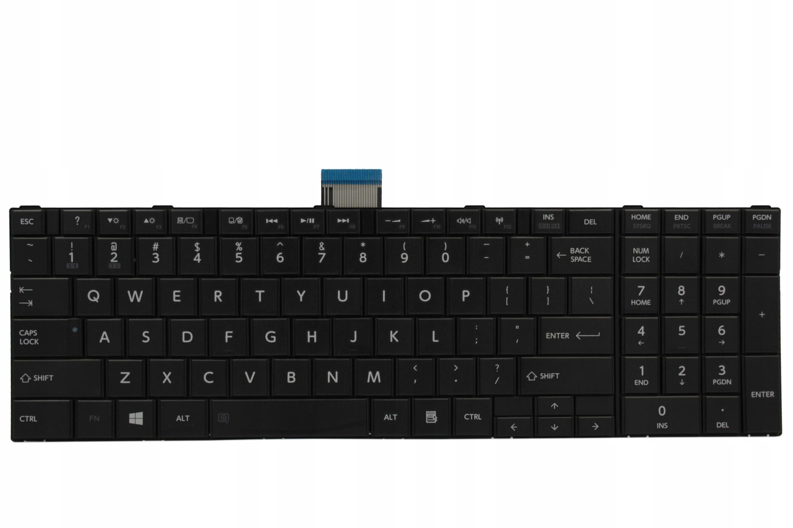 KLAWIATURA TOSHIBA C850-12R C850-1C4 1C4 12R - Klawiatury do laptopów