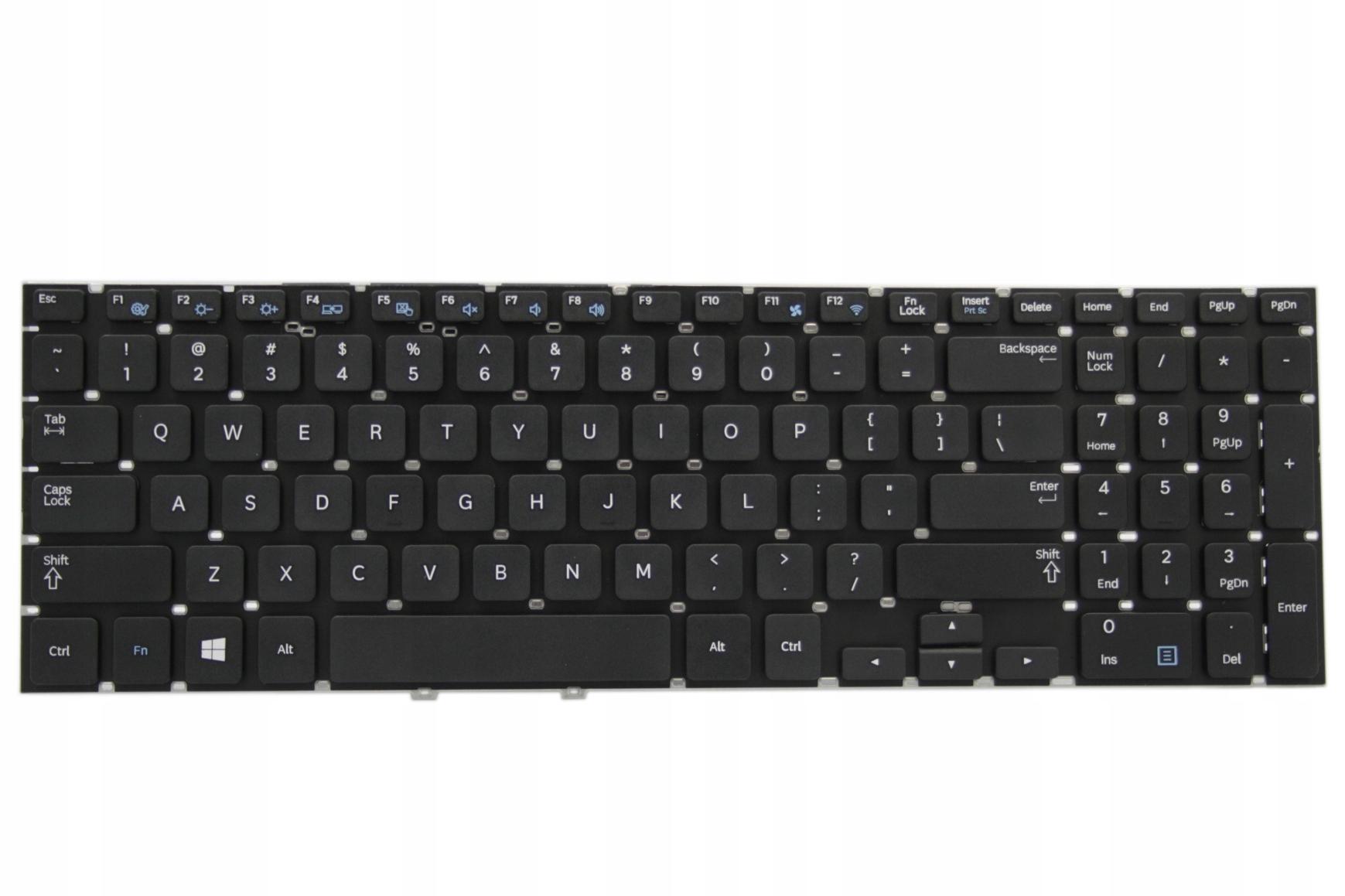 KLAWIATURA SAMSUNG 275E5V NP300E5V 355E5 NP355V5V - Klawiatury do laptopów