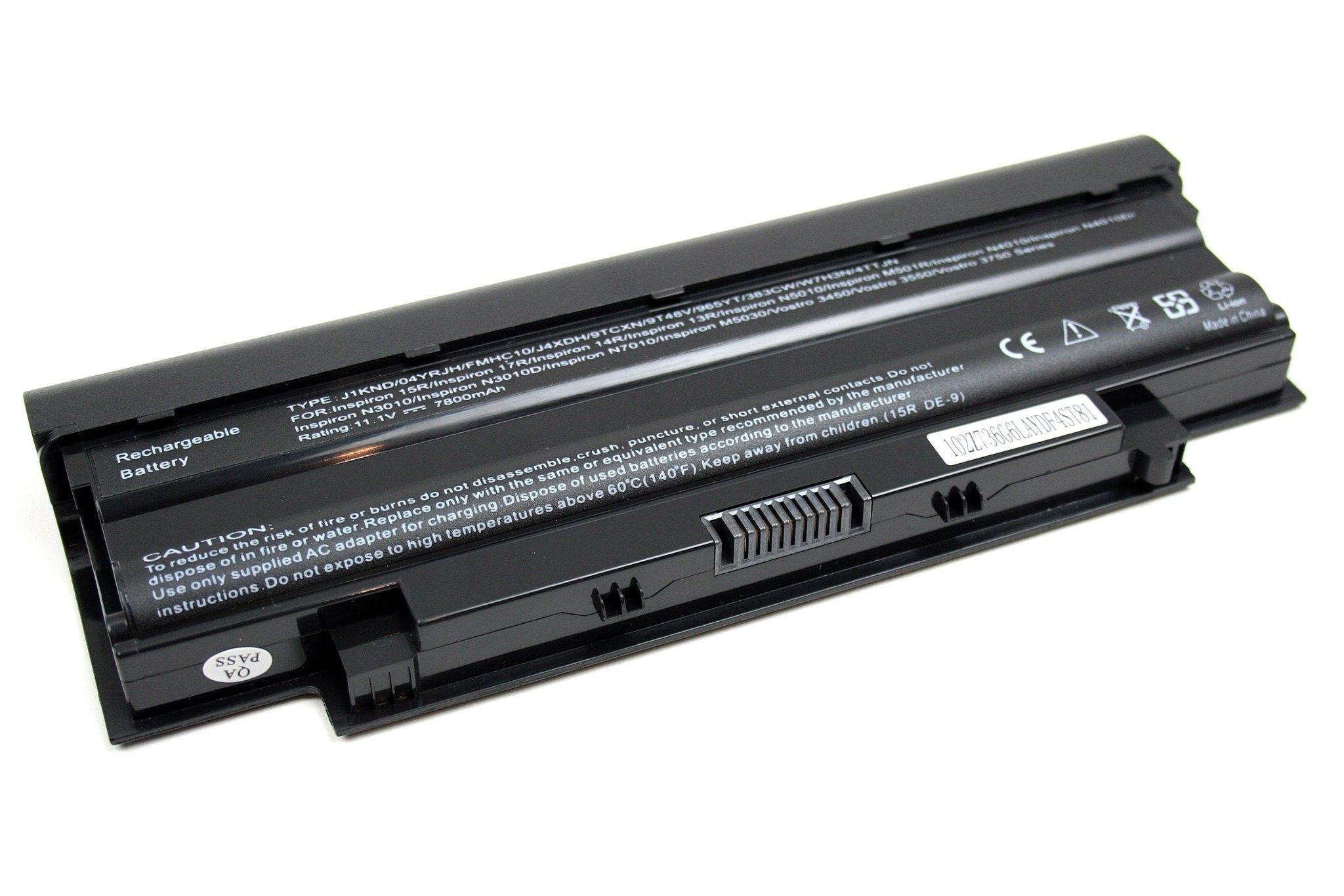 BATERIA AKUMULATOR DELL N5010 N5030 N5050 N5110 3550 J1KND - Baterie do laptopów