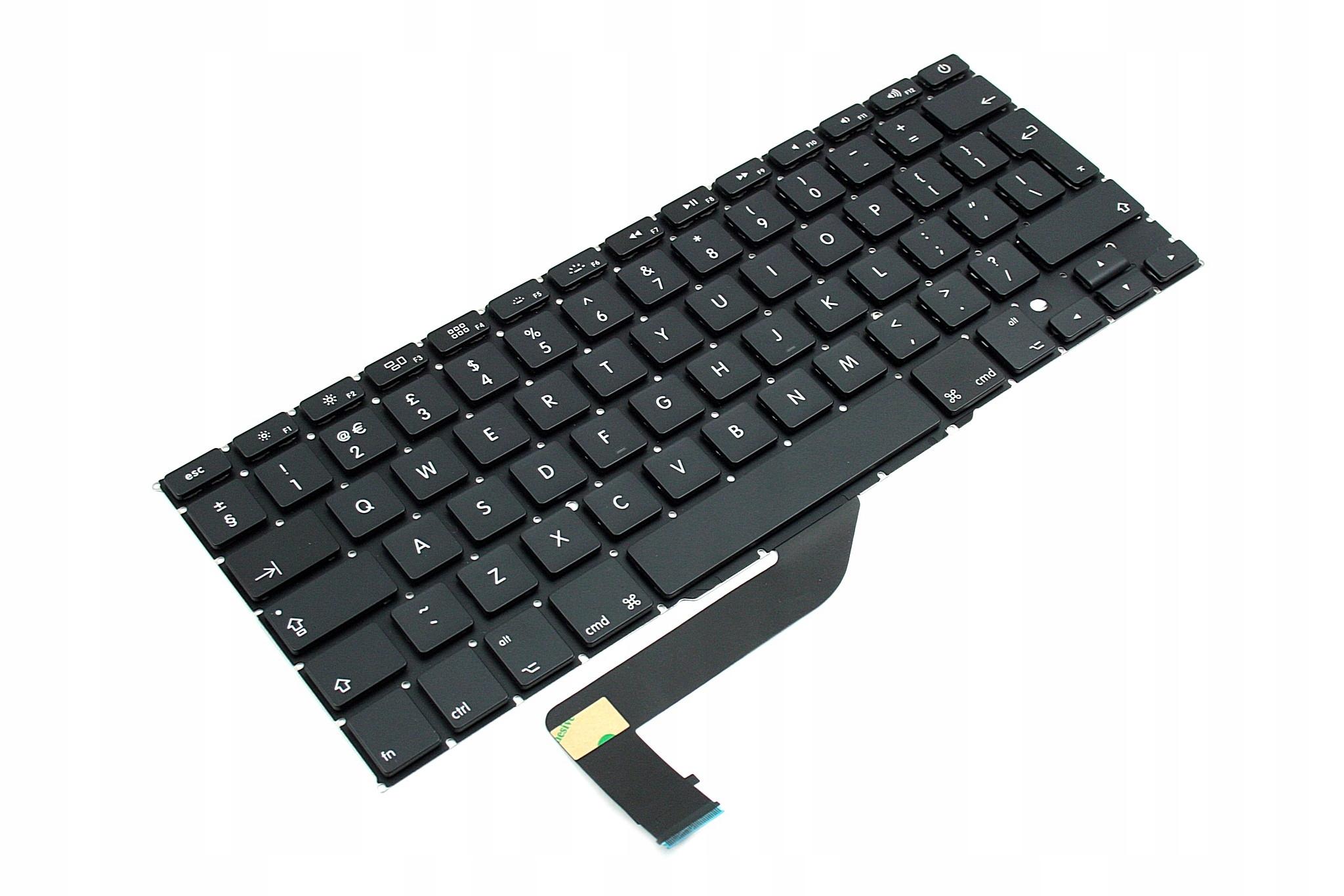 KLAWIATURA APPLE MACBOOK PRO 15 A1398 - Klawiatury do laptopów