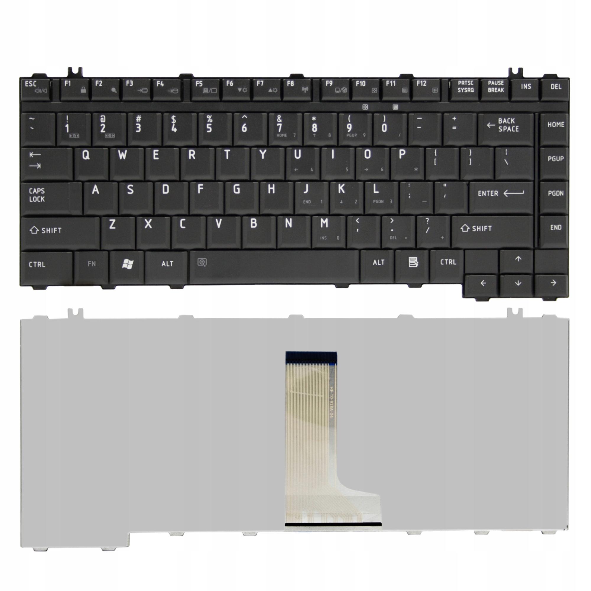 KLAWIATURA DO LAPTOPA TOSHIBA SATELLITE A300 A305 A200 A205 - Klawiatury do laptopów
