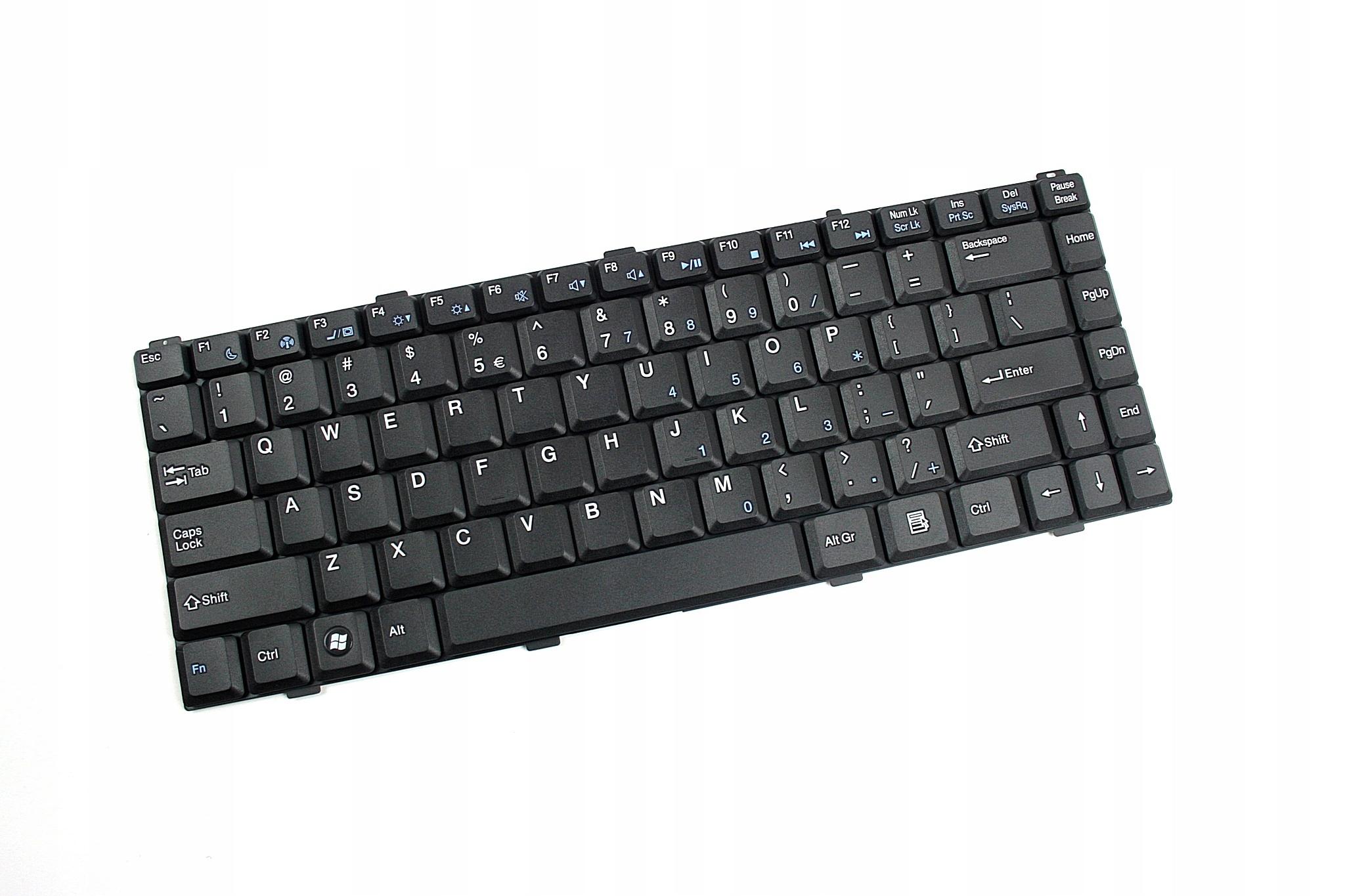 KLAWIATURA ASUS S96 Z96 COMPAL FL90 FL91 FL92 Z84 - Klawiatury do laptopów