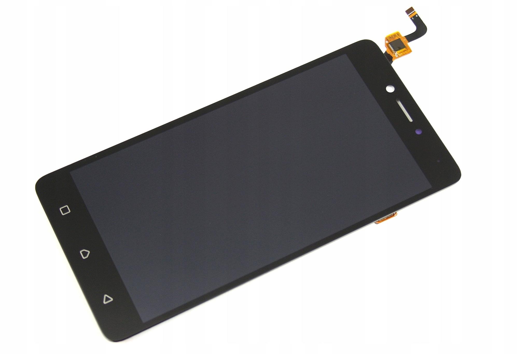 WYŚWIETLACZ Z DIGITIZEREM LENOVO K6 NOTE K53A48 CZARNY - Wyświetlacze z digitizerami do telefonów