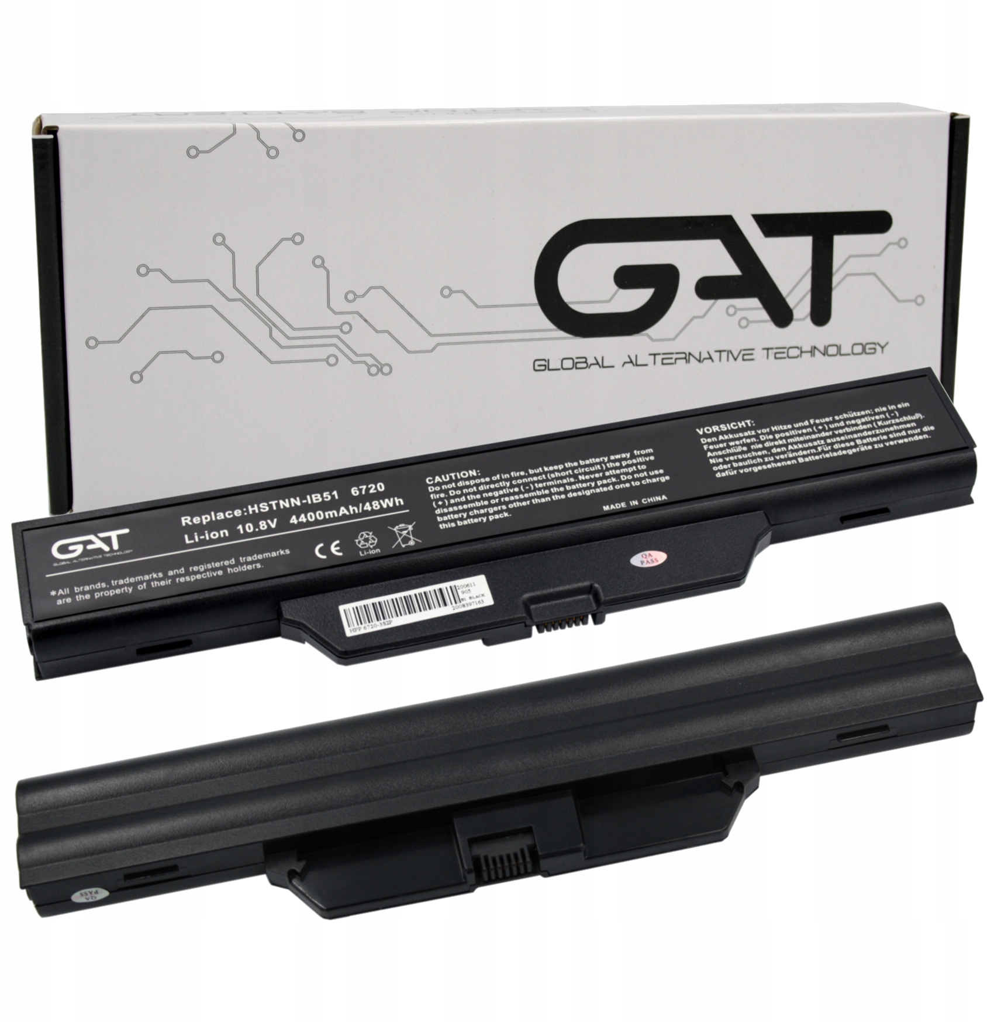 BATERIA AKUMULATOR HP 6720S 550 610 615 6735s 6820s - Baterie do laptopów