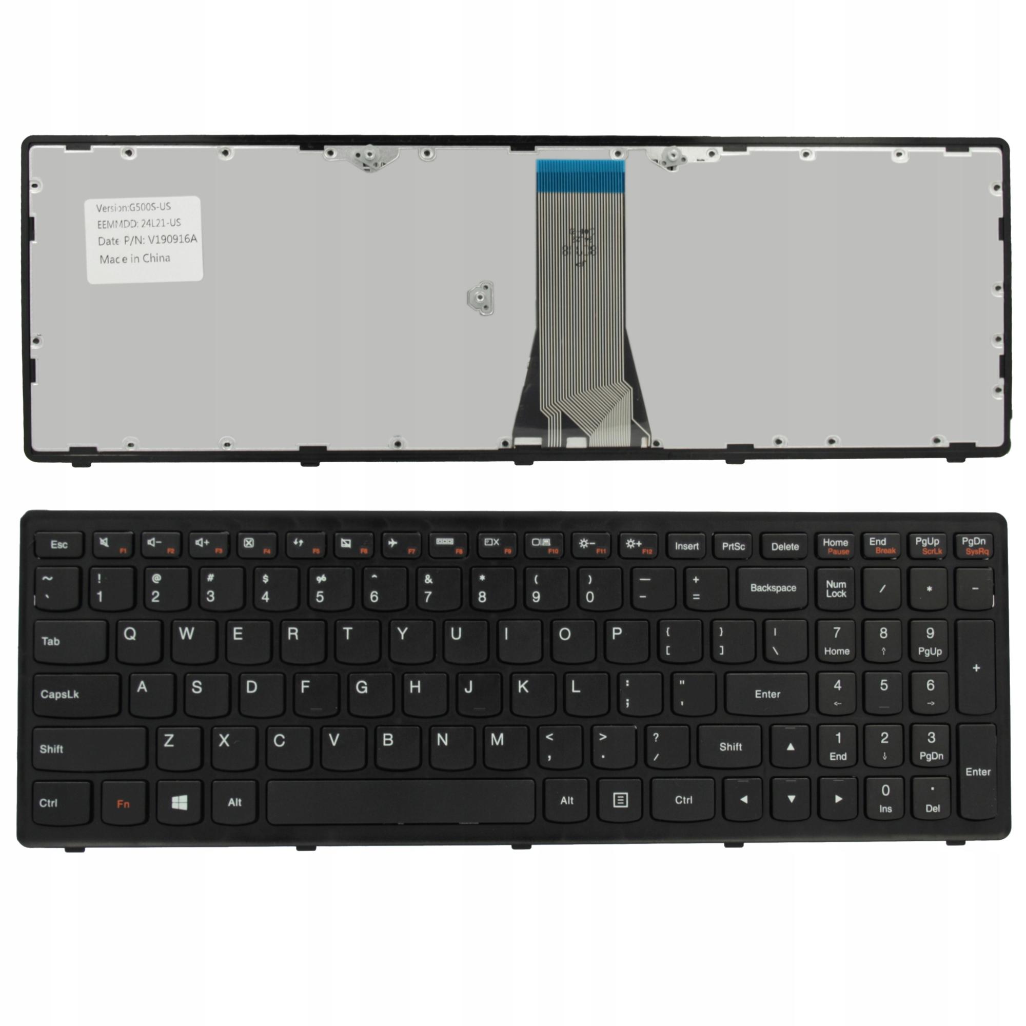 KLAWIATURA IBM LENOVO G500S G505S S500 G510S FLEX 15 - Klawiatury do laptopów