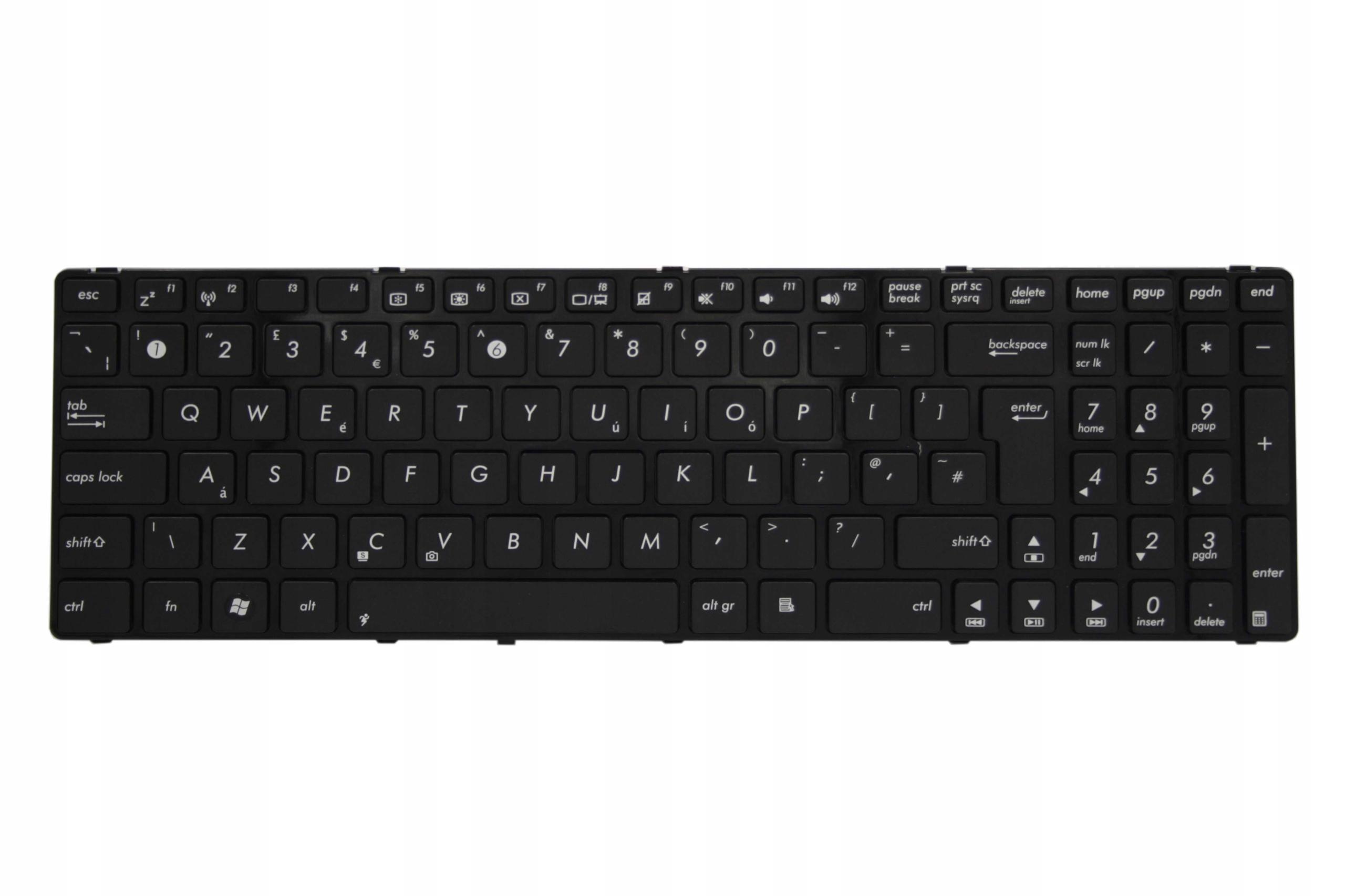 KLAWIATURA ASUS K50 K60 K70 K50C K50IJ F82Q - Klawiatury do laptopów