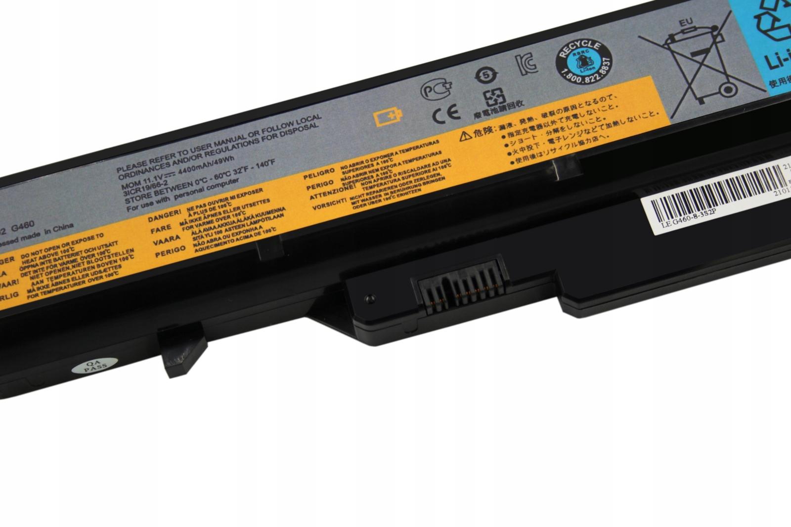 BATERIA AKUMULATOR LENOVO B570 G560 G570 G575 G770 Z560 Z570 - Baterie do laptopów