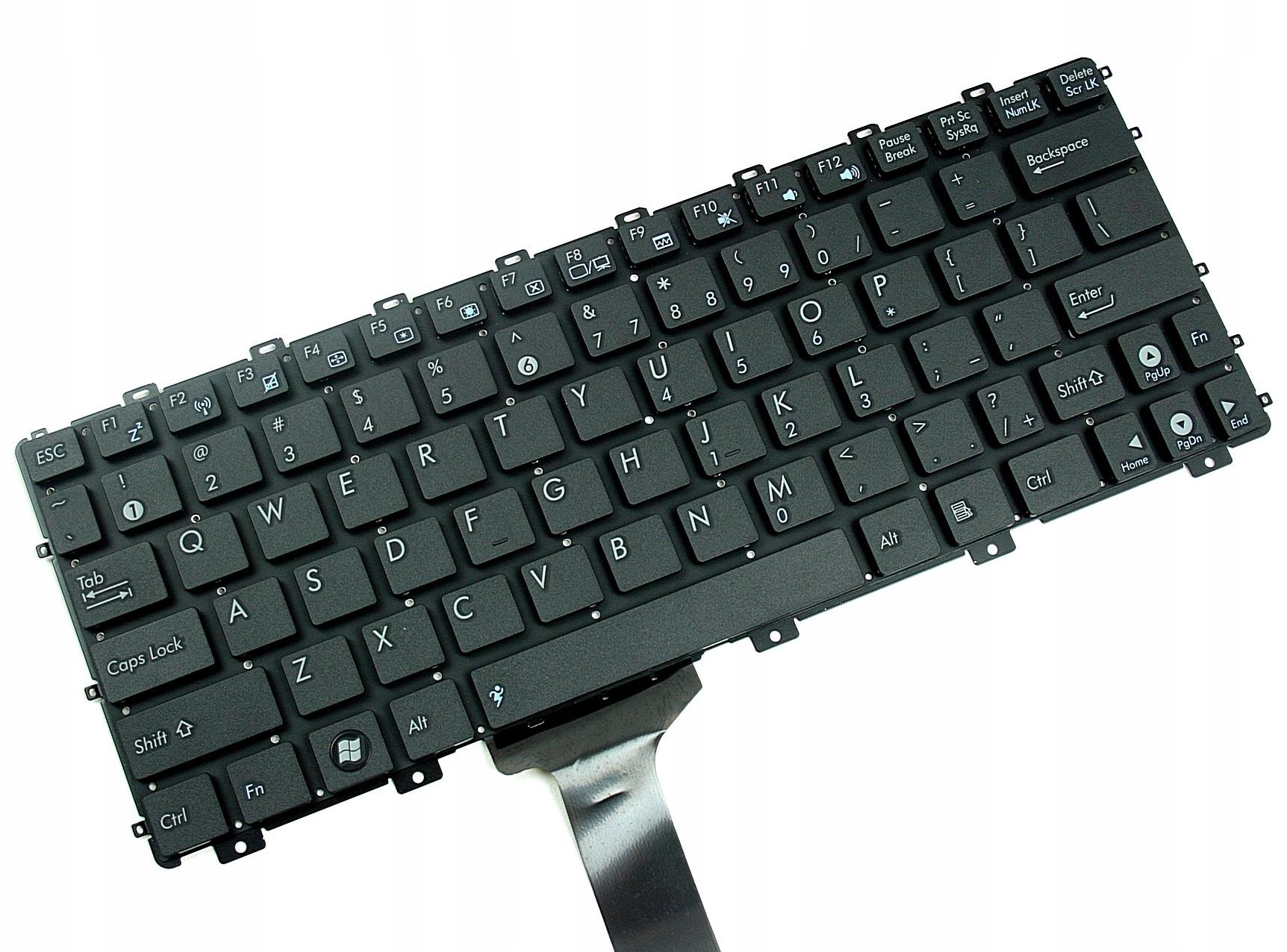 KLAWIATURA ASUS EEE PC 1015 1015PED 1015PB 1011PX - Klawiatury do laptopów