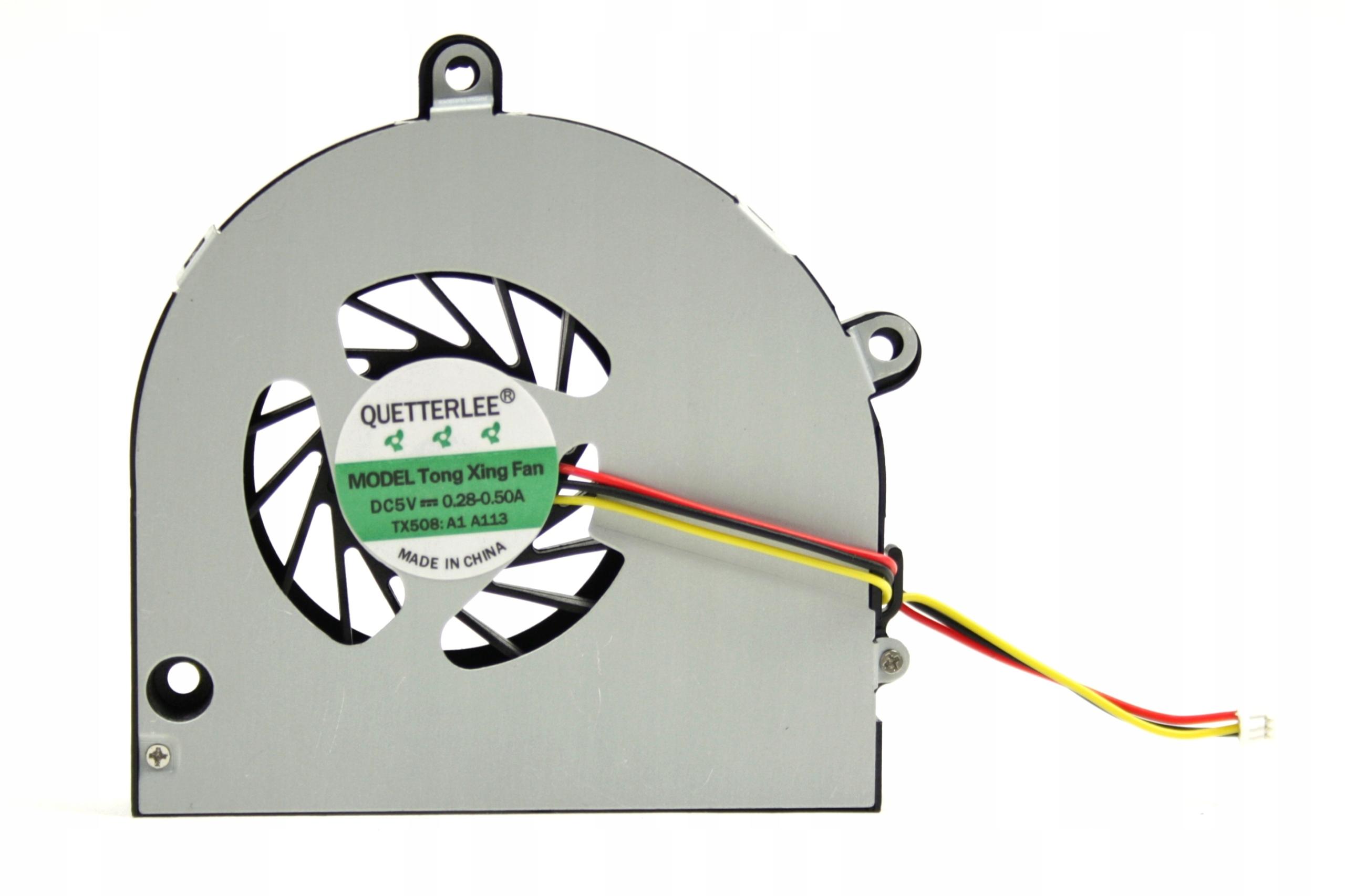 WENTYLATOR DO LAPTOPA TOSHIBA SATELLITE C660 C655 C650 L670 L675 P750 A660 CHŁODZENIE - Wentylatory i radiatory