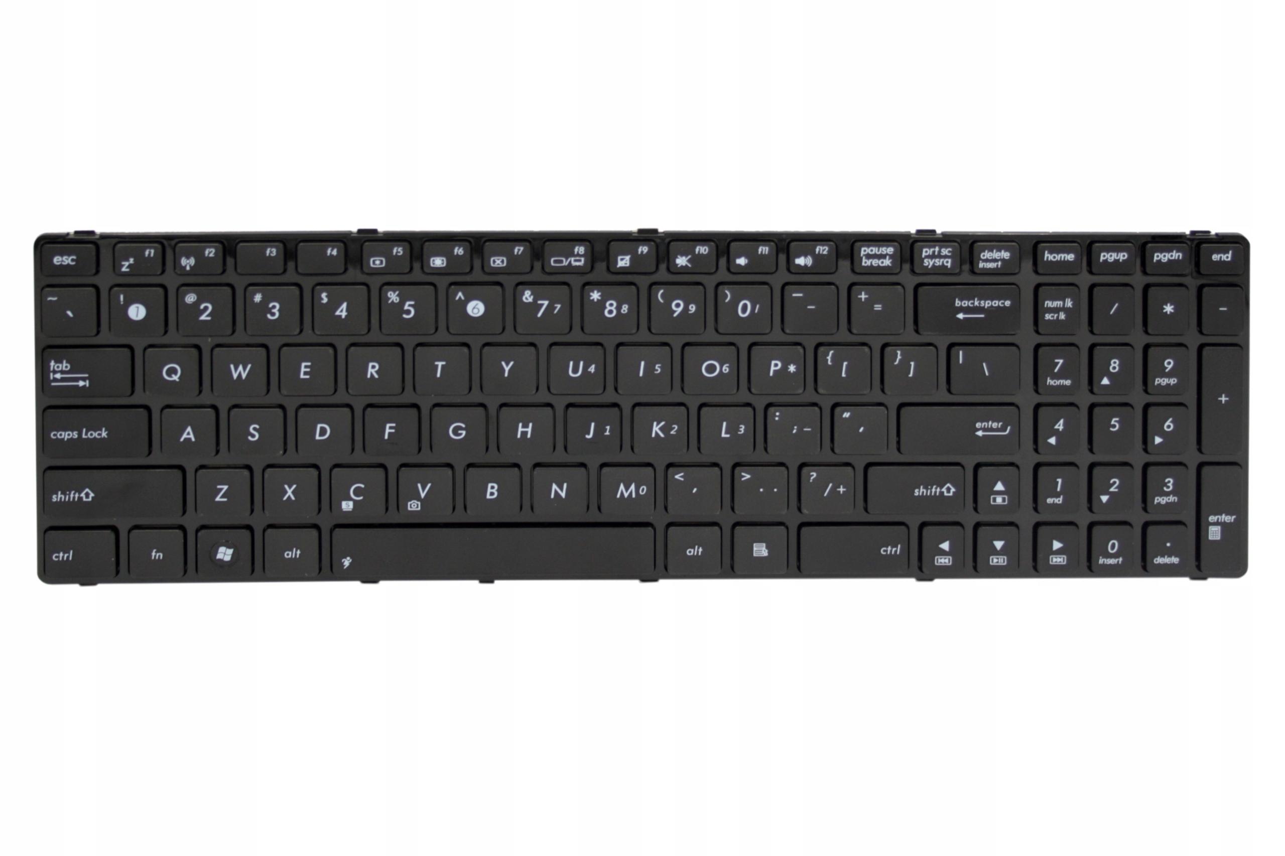 KLAWIATURA ASUS K50IJ K50IL K50IN K50IP K51AC - Klawiatury do laptopów