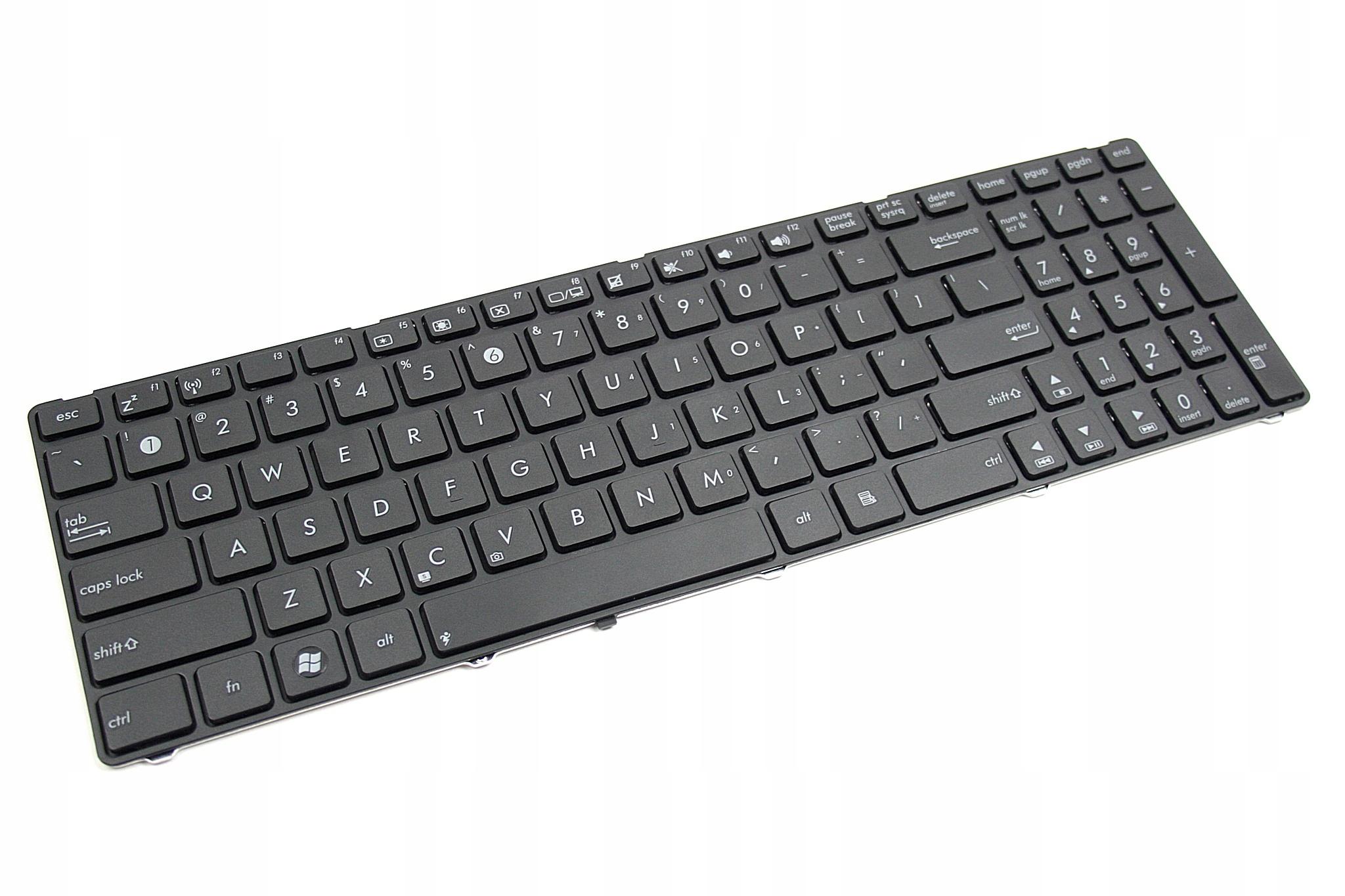 KLAWIATURA ASUS K70IC K70ID K70IJ K70IO K50AB - Klawiatury do laptopów